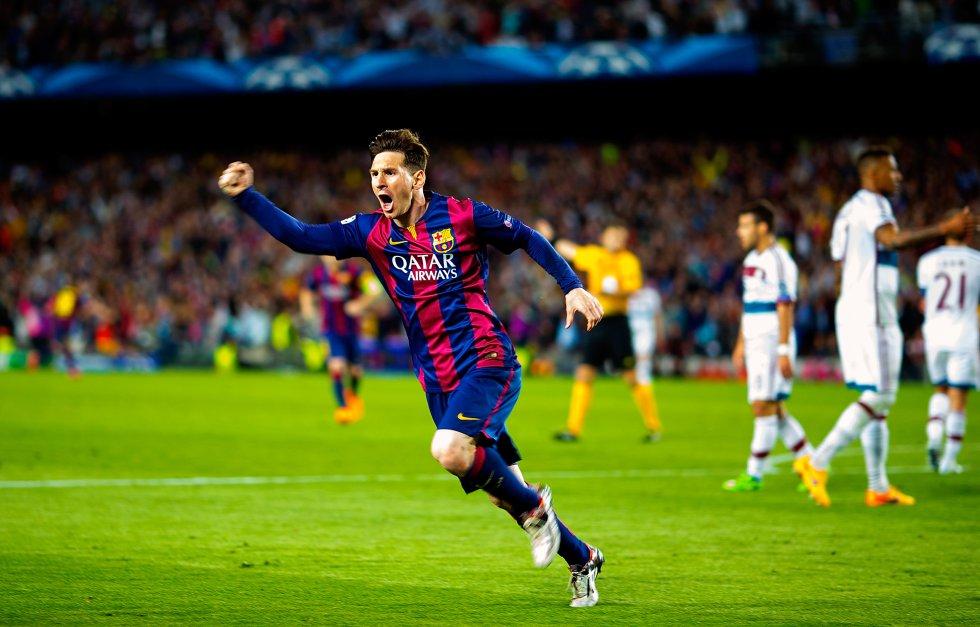 En el Barcelona, los goles se dividen por competiciones de la siguiente manera: 441 tantos en LaLiga, 114 en la Liga de Campeones, 53 en la Copa del Rey, 5 en el Mundial de Clubes, 14 en la Supercopa de España y 3 en la Supercopa de Europa.