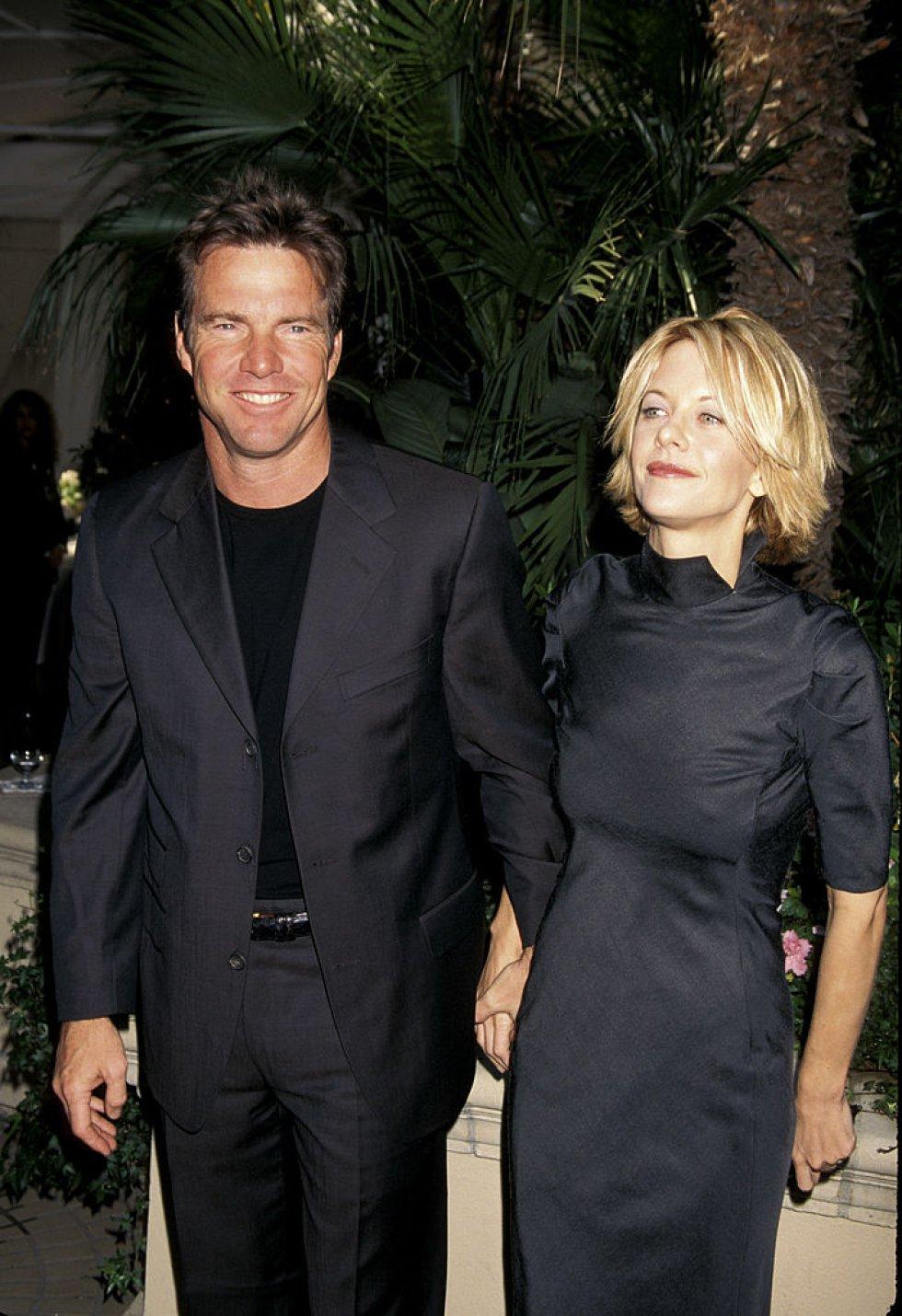 La actriz confesó haber sido culpable de su divorció con Dennis Quaid, a quien engañó con el protagonista de Gladiador, Rusell Crowe.