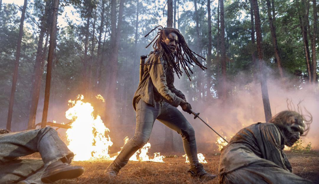 The Walking Dead Comic Con 2020 temporada 10