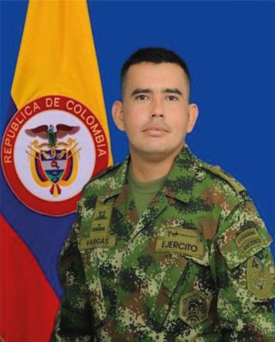 Soldado profesional Elquin Eduardo Vargas Guerrero.