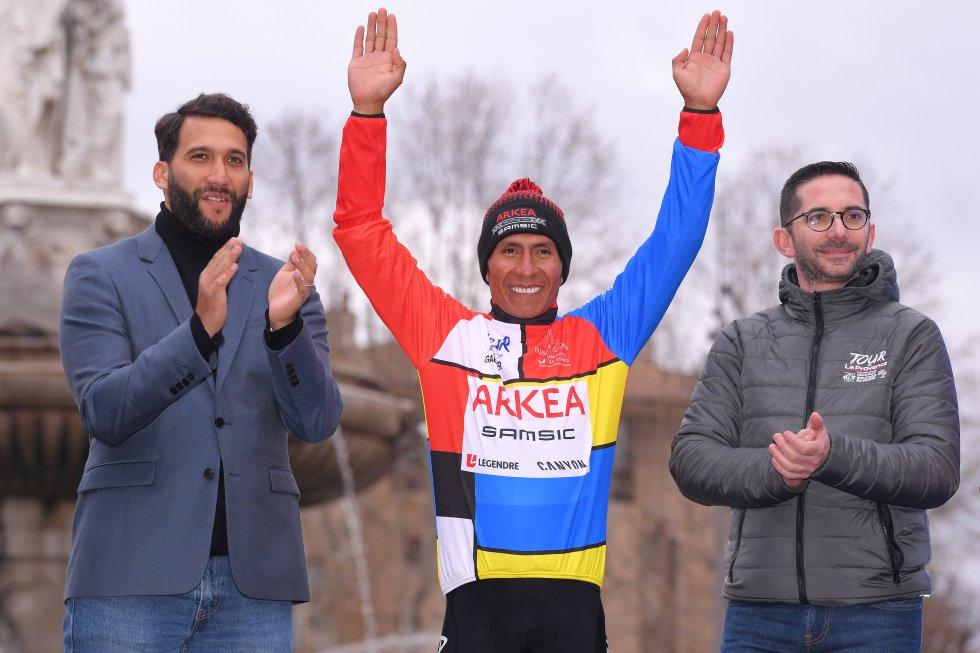 Nairo Quinana ganó la tercera etapa del Tour de La Provence, donde además se proclamó campeón.