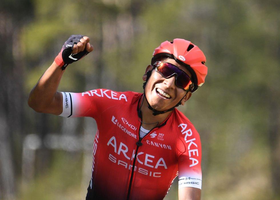 Nairo Quintana ganó la séptima etapa de la París-Niza.