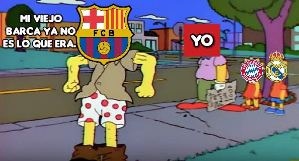 Champions League Barcelona Vs Bayern Munich: Los mejores memes de la goleada del Bayern Munich al FC Barcelona