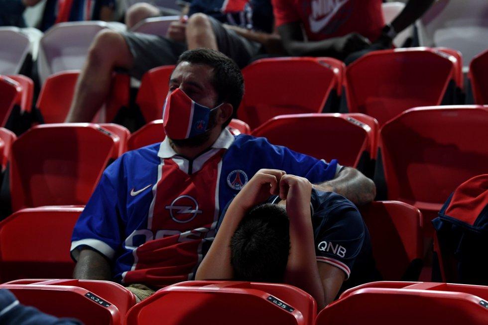 Final Champions League: De la emoción a la tristeza: Los rostros de la derrota del PSG