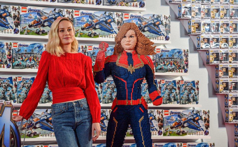 En un principio la actriz Brie Larson rechazó dos veces el papel para interpretar a Carol Danvers/ Capitana Marvel porque le generaba mucha ansiedad. Sin embargo a pesar de esto, hoy en día es un símbolo de la liberación femenina al ser parte de este universo.