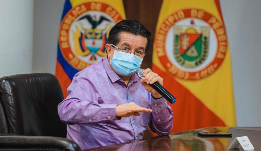 Curva de contagios de COVID-19 en Risaralda: Ministro de salud advierte que  el pico de contagios en Risaralda será largo | Pereira | Caracol Radio
