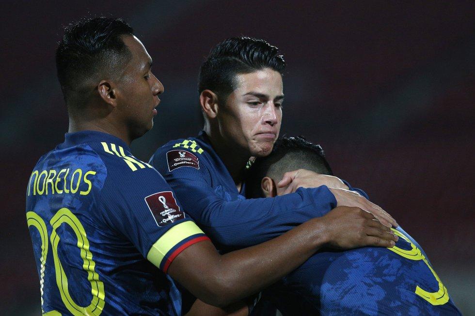 Colombia Chile: En fotos: El empate de Colombia en su visita a Chile en Santiago