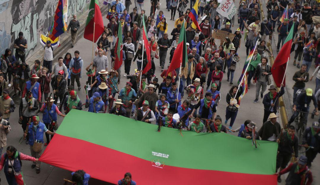 Minga Bogotá: Palacio de los Deportes acogerá a la Minga en su llegada a  Bogotá | Bogotá | Caracol Radio