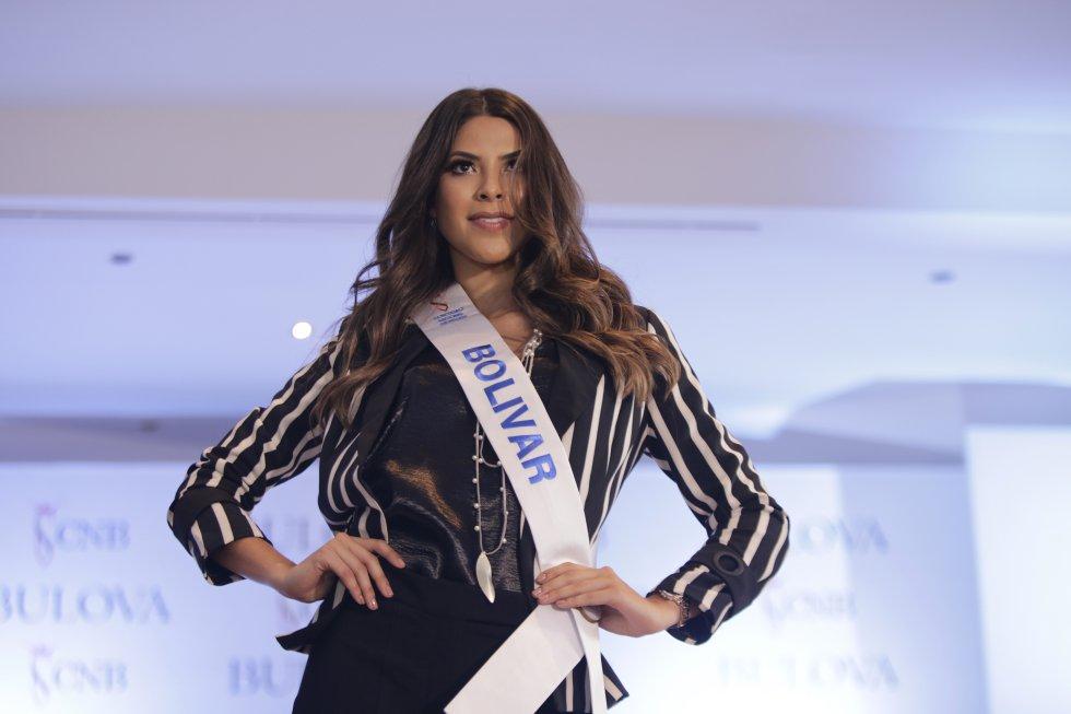 Laura Olascuaga señorita Bolívar y la nueva Miss Universo Colombia.