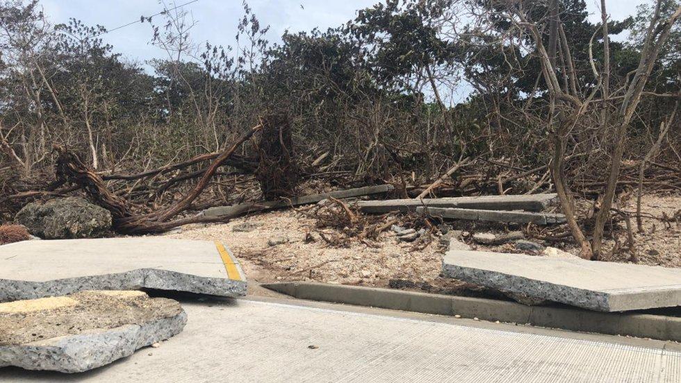Aún se espera el panorama del huracán Iota, el cuál llegó a categoría 5.