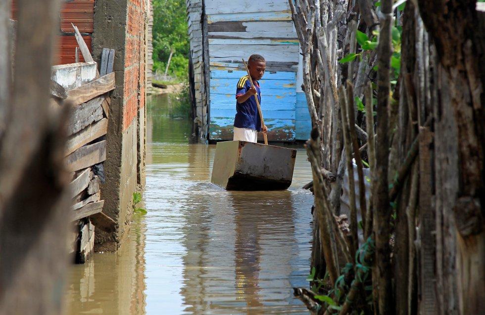 Iota causó grandes daños, entre los más afectados se encuentran la isla de San Andrés y Providencia y Cartagena.