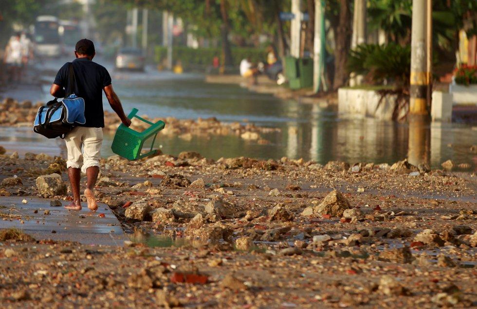 Los estragos que dejó el paso del huracán son inimaginables.