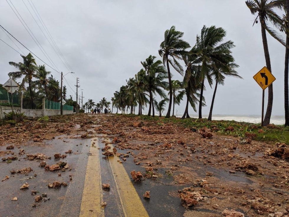 Huracán Iota en San Andrés y Providencia: Fotos: el paso del huracán Iota por San Andrés y Providencia