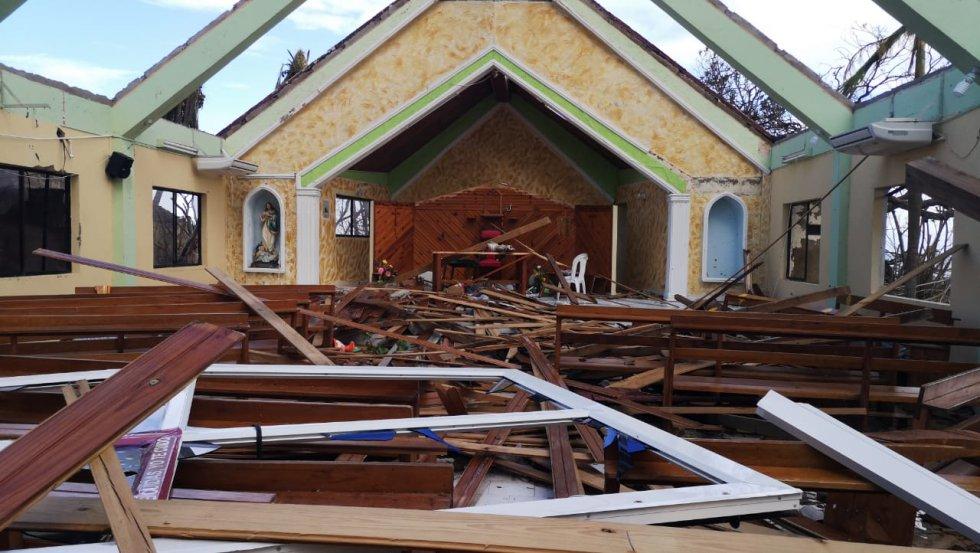 Caracol Radio visitó la isla que, según las autoridades, su infraestructura quedó 98% destruida.