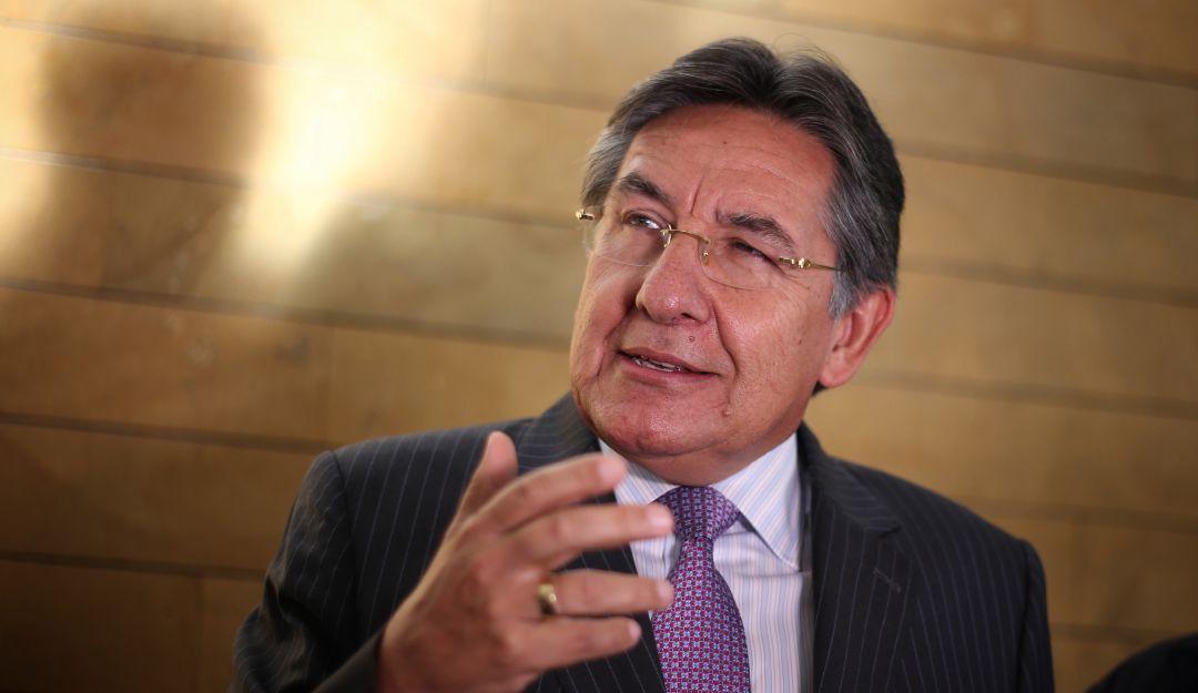 El exfiscal fue invitado a un debate de control político en la Comisión Primera del Senado.