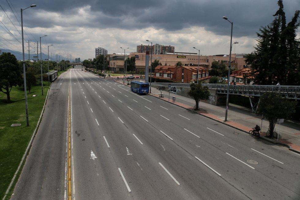 Los colombianos empezaron a acatar el aislamiento obligatorio decretado por el Gobierno Nacional