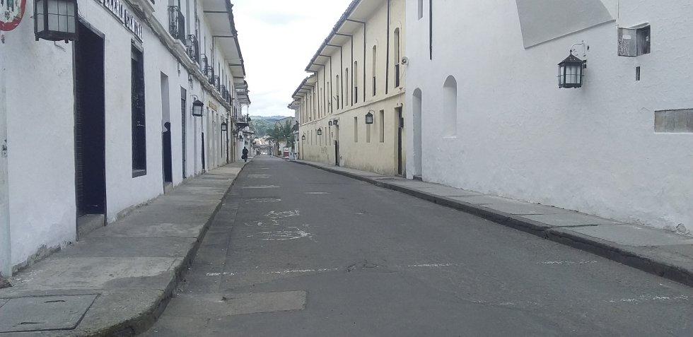 En otras ciudades del país como Popayán también se tomaron medidas para contener el COVID-19