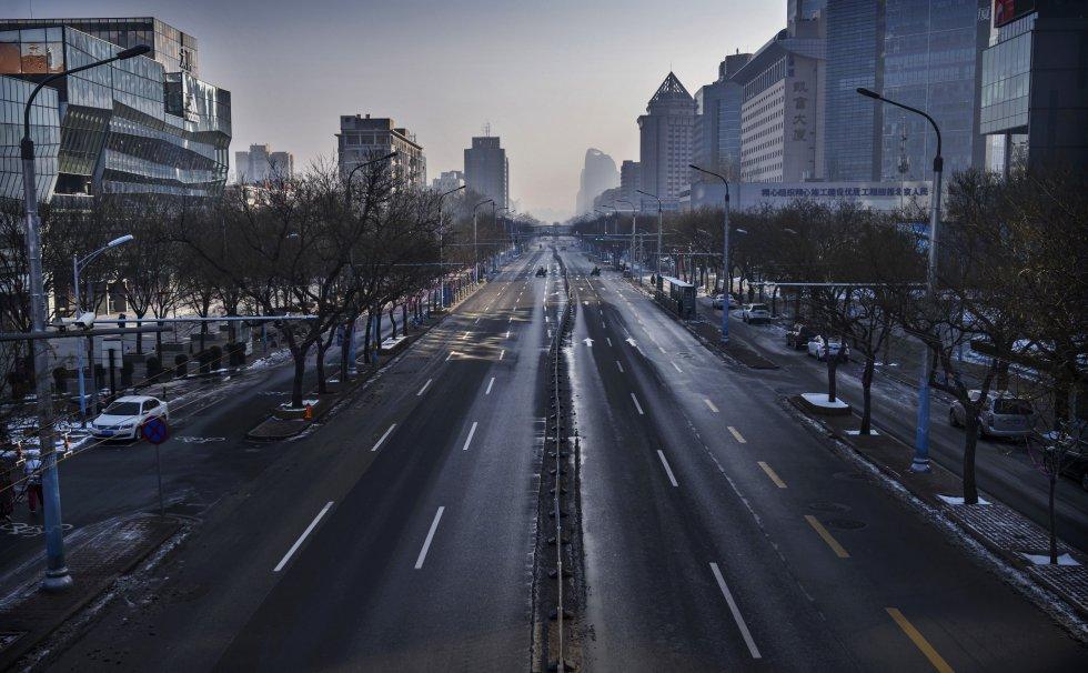 Las calles solas. Así era el panorama en varias partes del mundo.