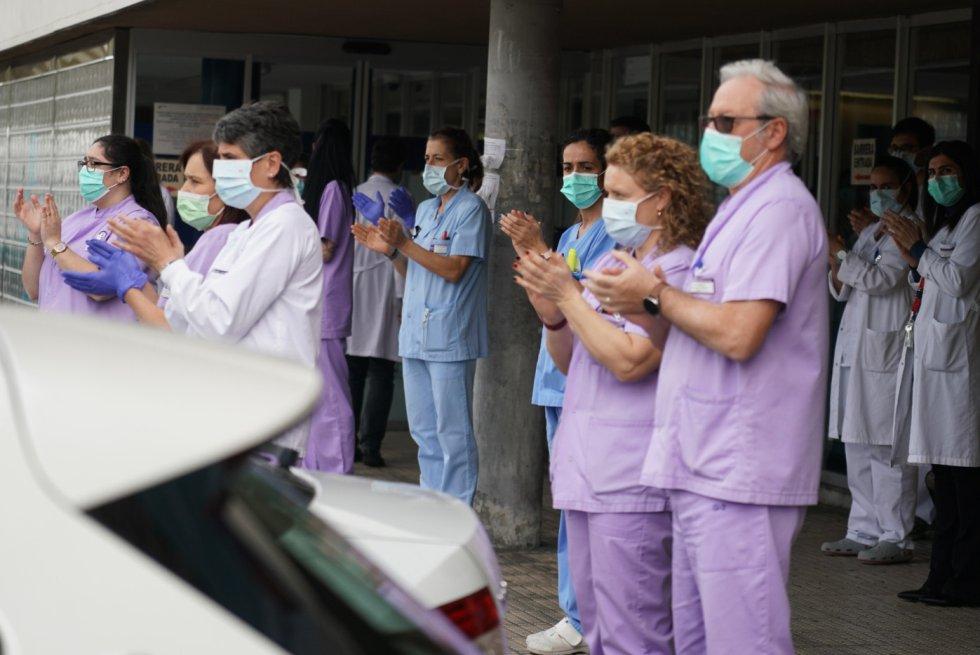 El personal de salud ha estado en primera base, son ellos quienes día a día combaten el virus.