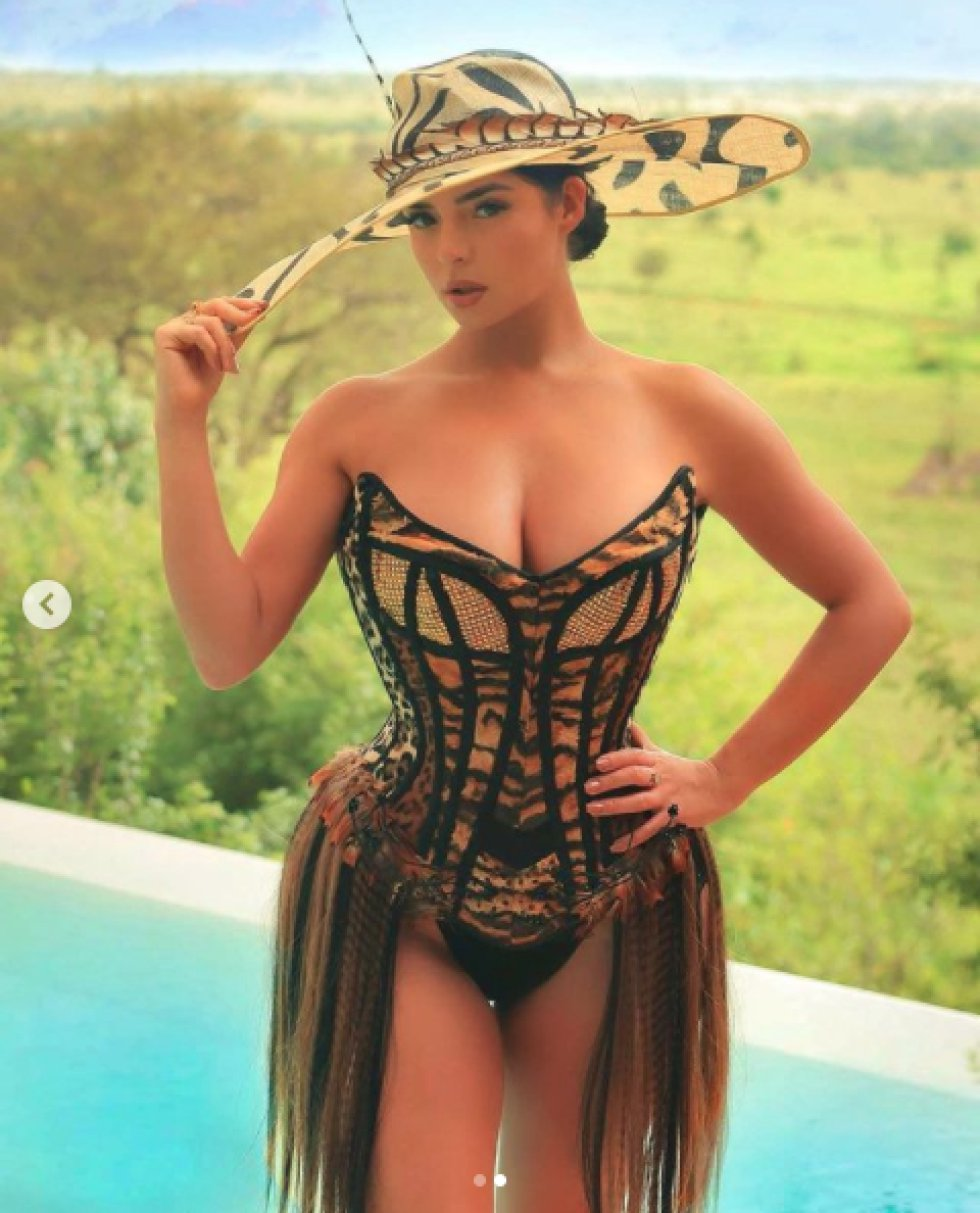 Demi Rose, modelo británica.
