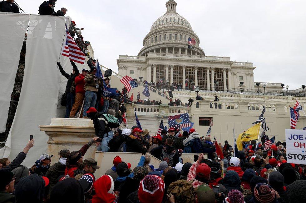 Protestas pro Trump en Estados Unidos.