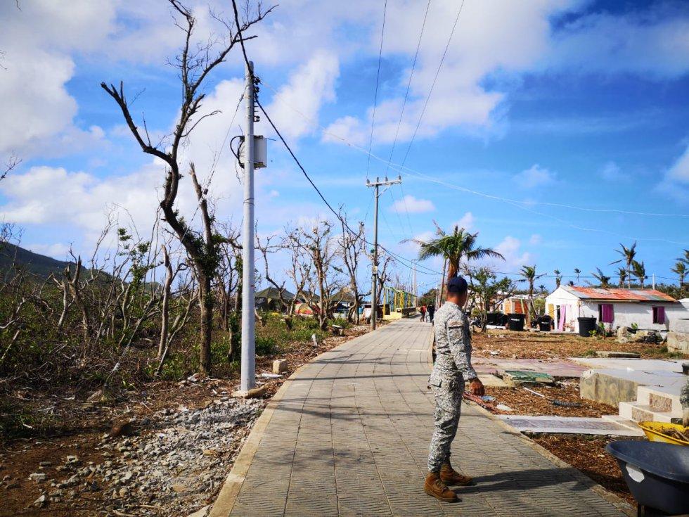 Huracán Iota: Fotos: Recorrido por la isla de Santa Catalina afectada por huracán Iota