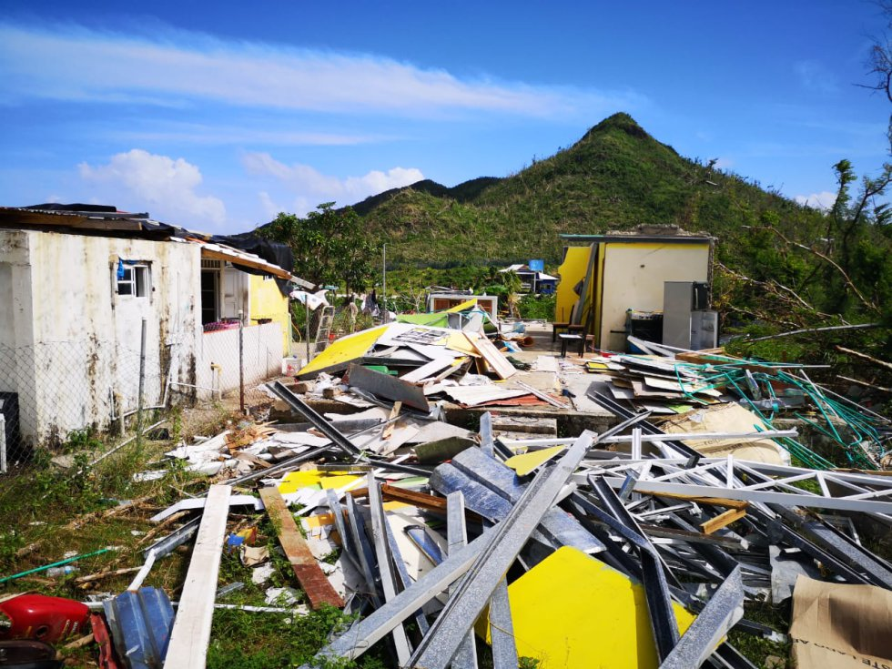 Isla Providencia: Fotos: escombros y casas destruidas es el panorama en Providencia