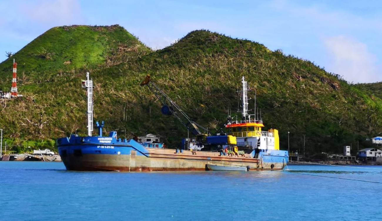 Reconstrucción de Providencia: Exclusivo: El buque ecológico encargado de  dragar el mar de Providencia   Nacional   Caracol Radio