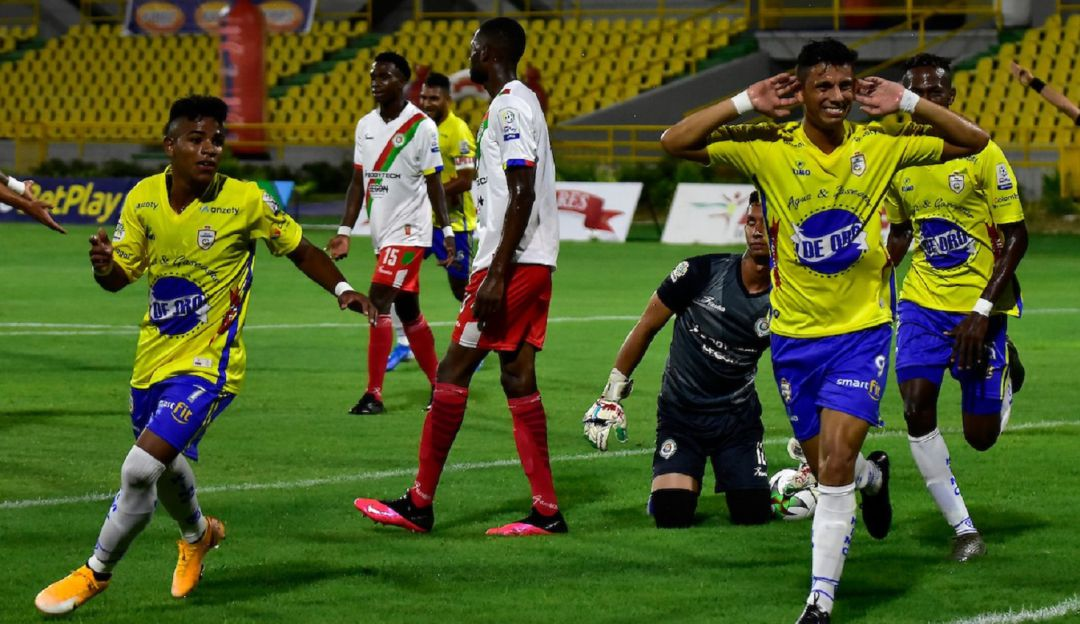 Real Cartagena en el Torneo BetPlay 2021: ¡En la agonía! Real Cartagena sumó sus tres primeros puntos en su debut | Cartagena  | Caracol Radio