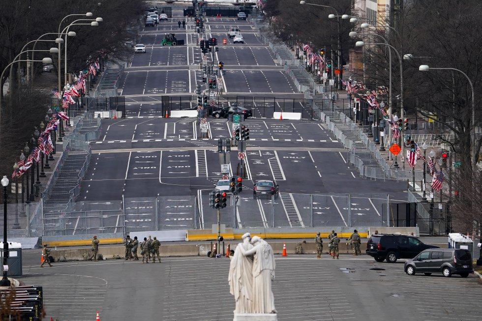 Posesión de Joe Biden en Estados Unidos. Así se preparan para el evento.