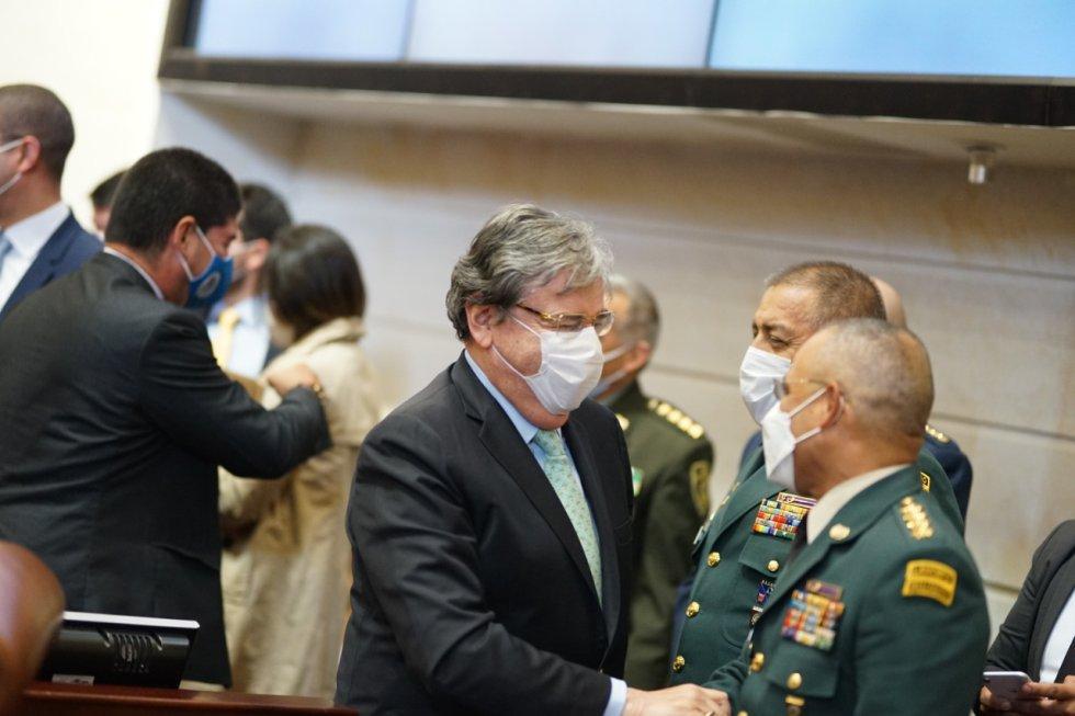 Ministro de Defensa falleció en la madrugada del 26 de enero