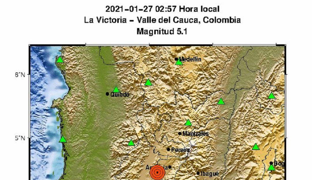 SISMO: Susto y pánico en el Quindío por fuerte temblor de tierra en la madrugada | Armenia  | Caracol Radio