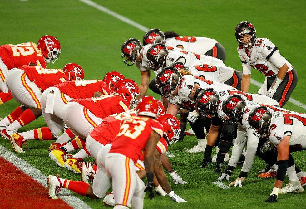 NFL: FOTOS: Las mejores imágenes en la primera parte del Super Bowl 55