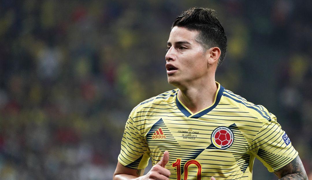 James Rodríguez confirma que posiblemente no estará en la Selección Colombia.