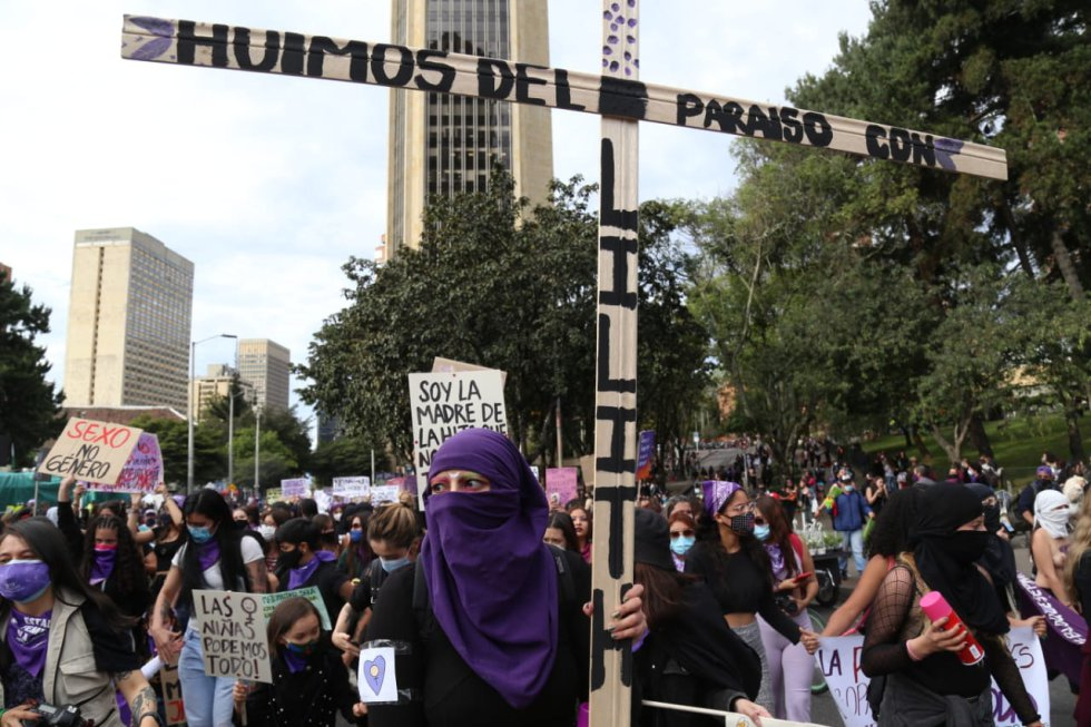 Conmemoración Día de la Mujer Colombia 2021.