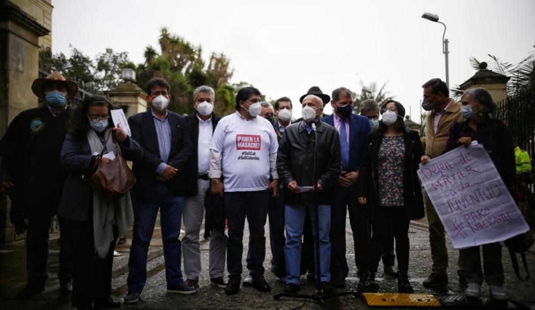Paro Nacional Colombia: Comité del Paro justifica bloqueos y reitera que  seguirán con las protestas   Nacional   Caracol Radio