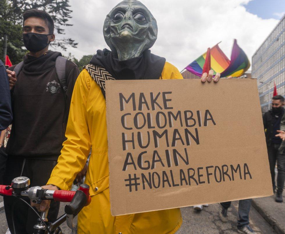 El 28 de abril las calles del país se llenaron de gente. Los unía un solo llamado: tumbar la reforma tributaria del Gobierno.