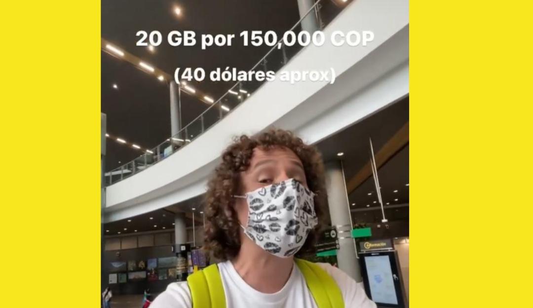 ¿Lo robaron? le cobraron 150.000 pesos a Luisito Comunica por una SimCard