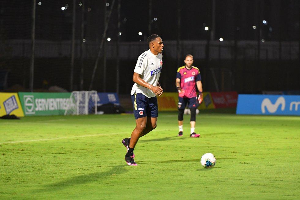 Yerry Mina, defensa del Everton.