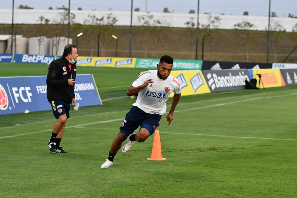 Miguel Ángel Borja, delantero del Junior.