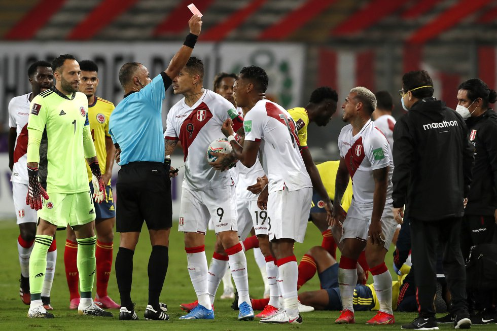 Fotos: Los mejores momentos de la victoria de Colombia ante Perú