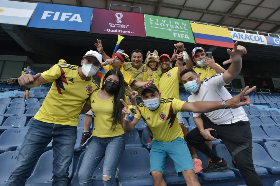 Volvió el público en el Metropolitano para acompañar a la Selección