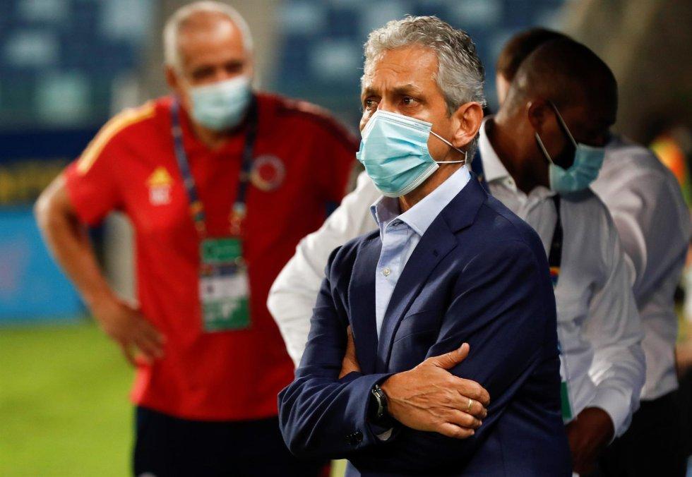 El entrenador de la Selección Colombia Reinaldo Rueda
