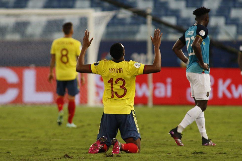 Selección Colombia: Fotos: Los mejores momentos de la victoria de Colombia ante Ecuador