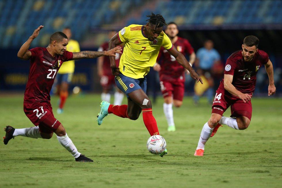 Selección Colombia: Fotos: Colombia en su segundo partido de la Copa América contra Venezuela