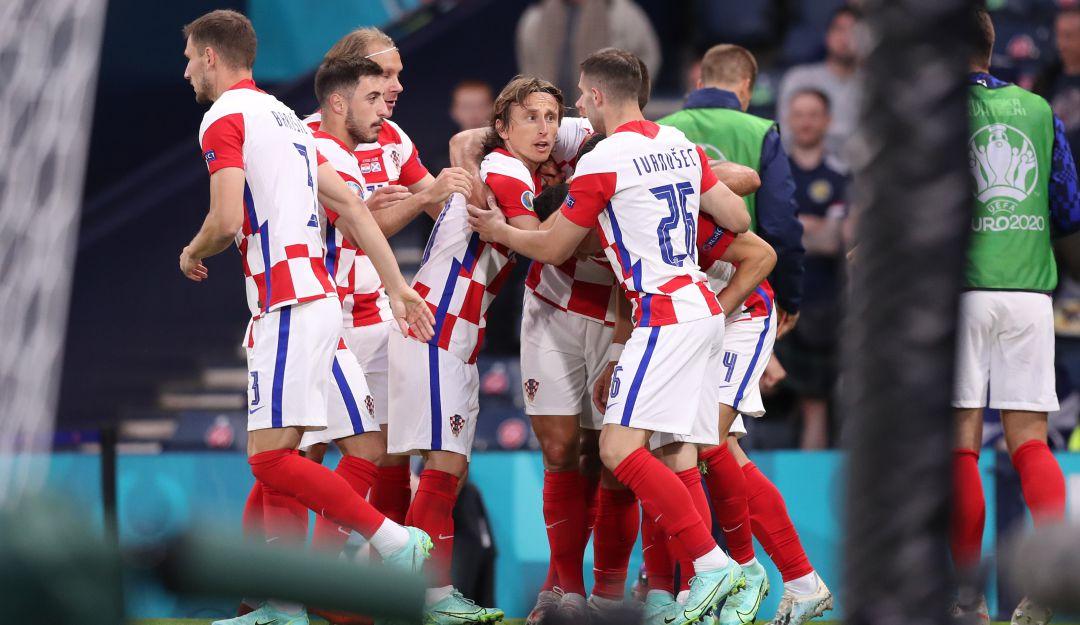 Croacia vs Escocia: Croacia clasifica a octavos de la Euro y elimina a Escocia | Deportes  | Caracol Radio