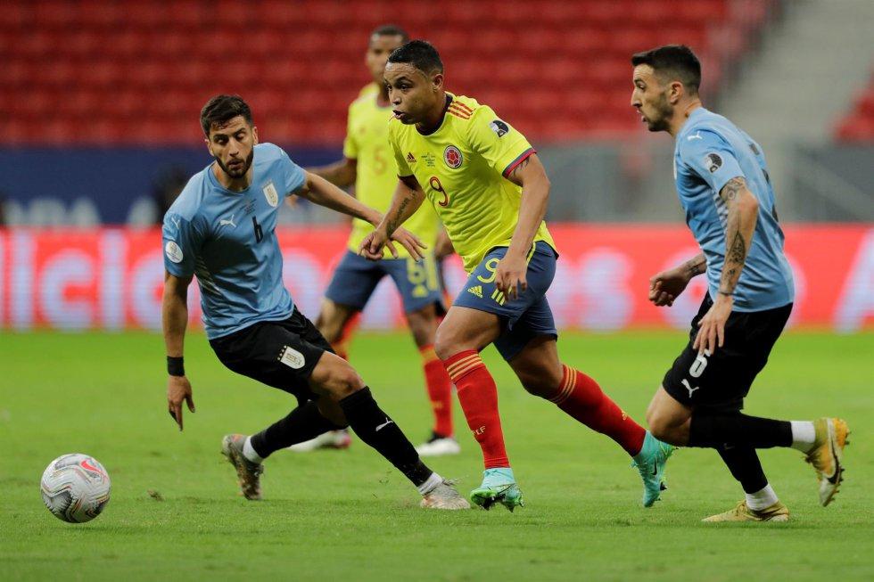 Colombia vs. Uruguay, cuartos de final de la Copa América
