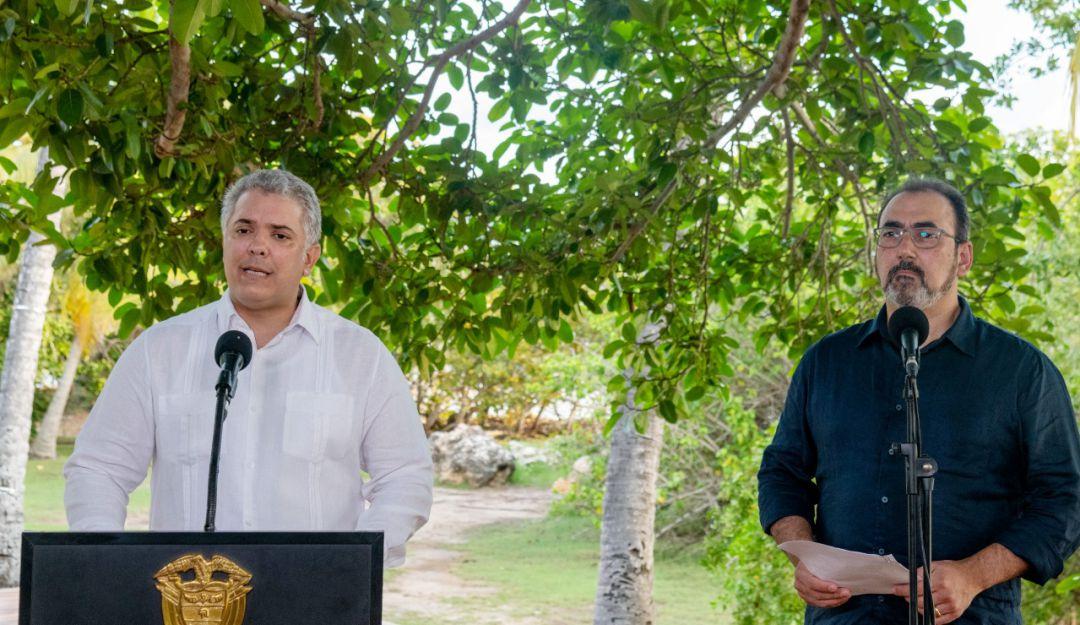 COLOMBIA: Queremos una CAF que desarrolle proyectos para todos los países:  Duque | Política | Caracol Radio