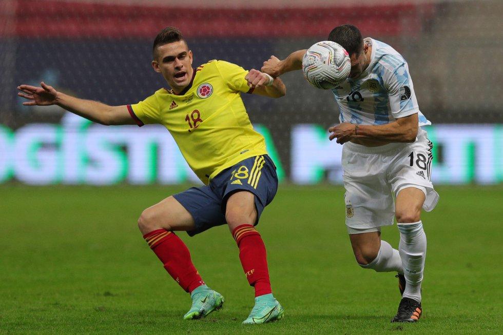 Colombia vs. Argentina, semifinales Copa América