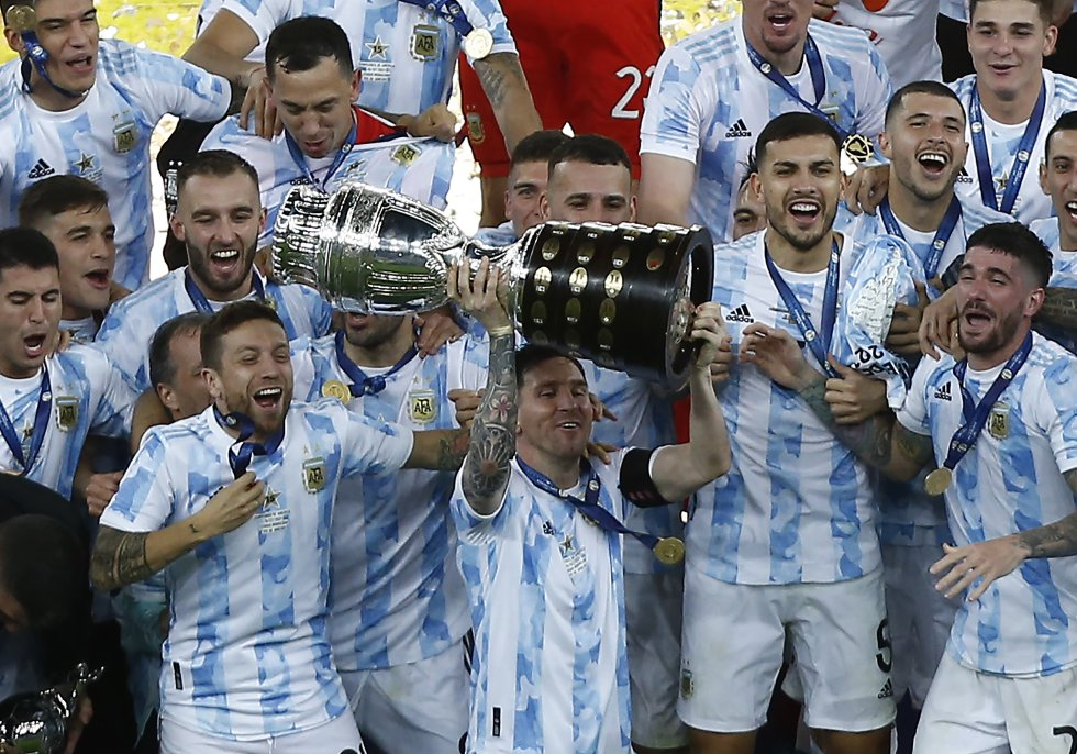 Argentina campeona de la Copa América